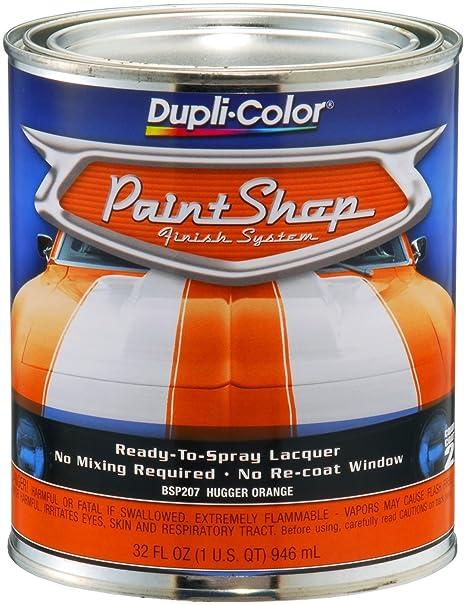 Dupli-Color BSP207 Hugger Orange Paint Shop Finish System - 32 oz
