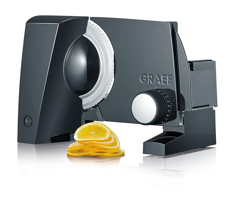 Graef S 10002 Elettrico 170W Alluminio Nero affettatrice S10002