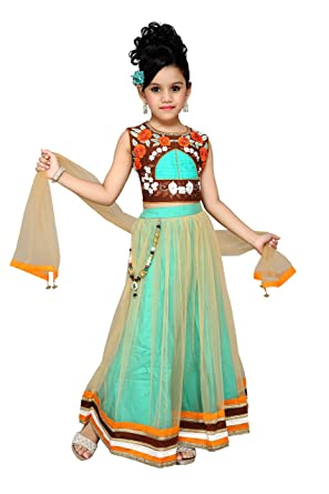 c4c40aa17052 S-Kalp Girl's Party Wear Chudidar Suit Set: Amazon.in: Clothing &  Accessories