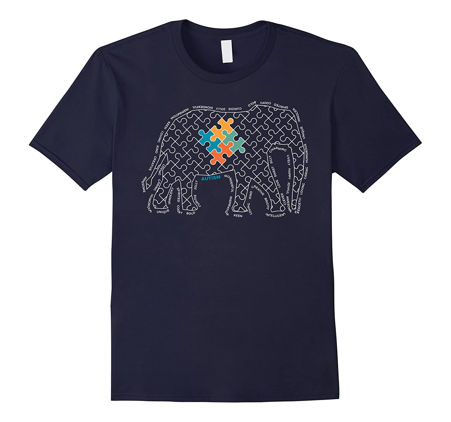 Autism Awareness Teacher T-Shirt-FL
