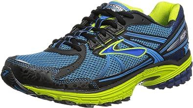 BROOKS Adrenaline ASR 10 Zapatilla de Trail Running Caballero, Azul/Verde, 46.5: Amazon.es: Zapatos y complementos