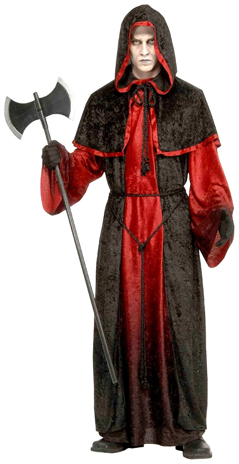 Amazon.com Forum Novelties Menu0027s Demon Robe Costume Black/Red Standard Clothing  sc 1 st  Amazon.com & Amazon.com: Forum Novelties Menu0027s Demon Robe Costume Black/Red ...