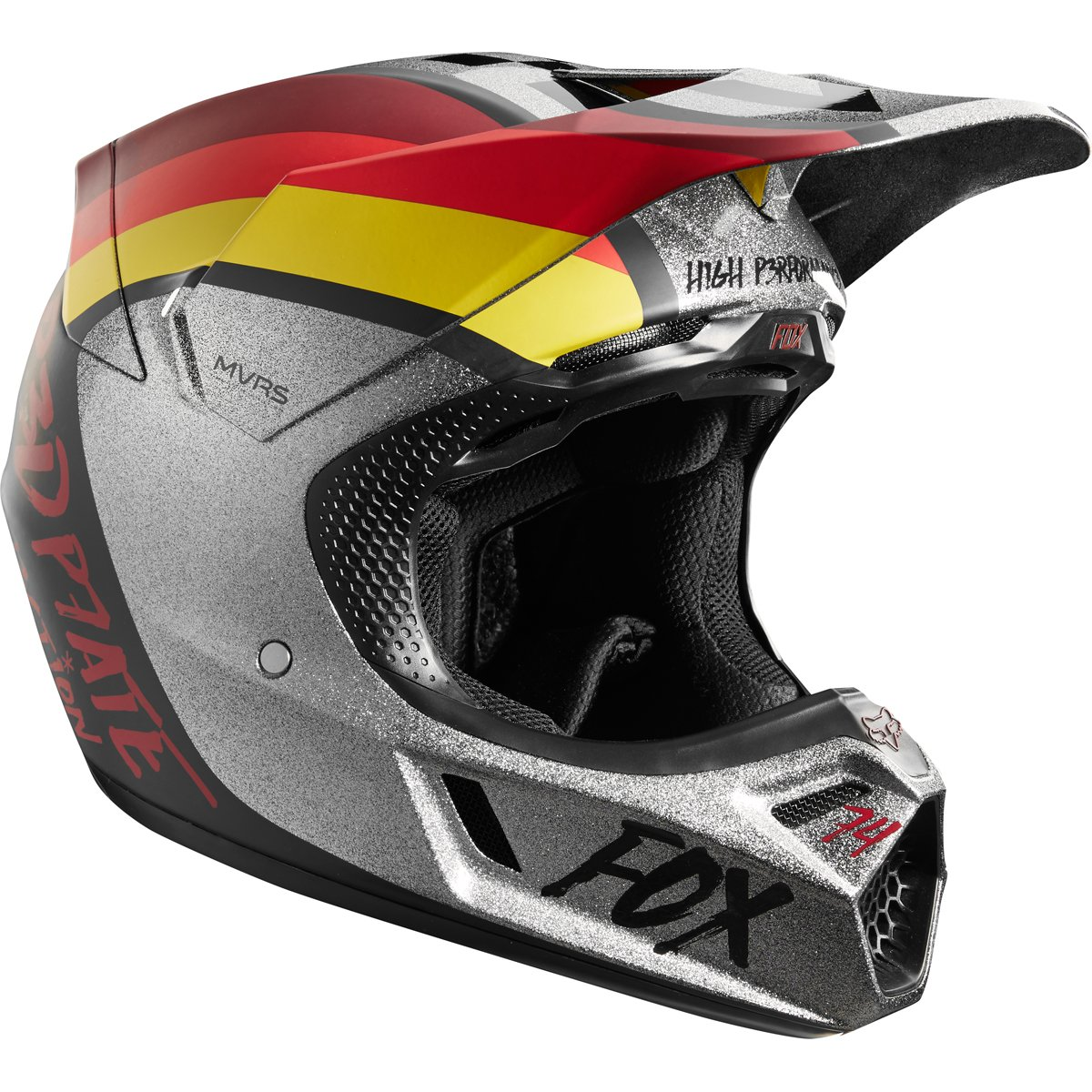 Fox Racing 2018 V3 RODKA Limited Edition Offroad Motocross Helmet Light Gray-Medium by Fox Racing