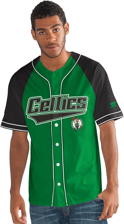 STARTER Adult Men NBA The Player Baseball Jersey