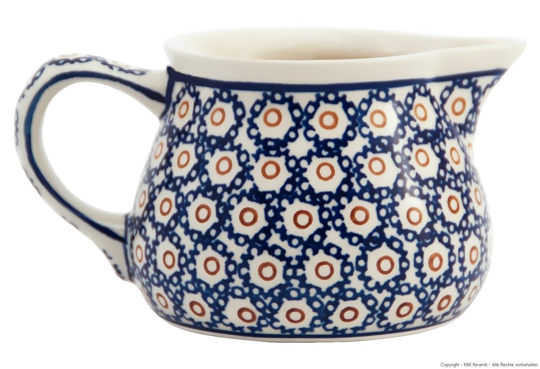 Bunzlauer Keramik lechera/leche 0,4 l, en Retro decorativo de 4 ...