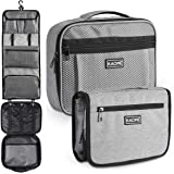 Kaome Detachable Hanging Toiletry Bag Lengthened Cosmetic Organizer for Daily Use Large Capacity Waterproof Compact…