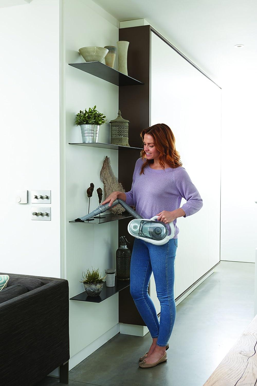 Bianco BLACK+DECKER SVFV3250L-QW Scopa Ricaricabile Multifunzione 2 in 1 con Technologia ORA 32.4 V