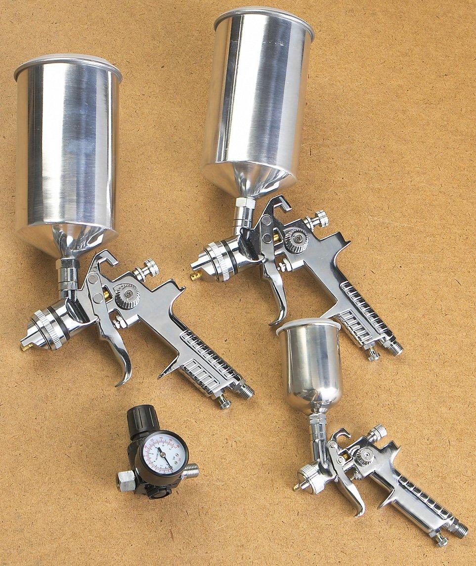 Pistola para Pintar Vaper 19220 HVLP Triple Juego de de A...