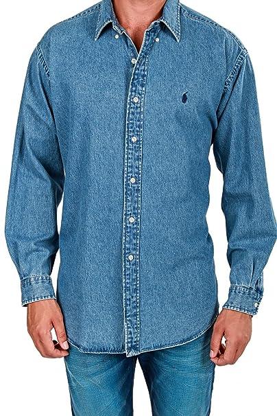 Ralph Lauren Y HombreColorAzulAmazon Polo Camisa Para esRopa dthQsrC