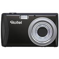 Rollei Compactline 800 - Digitalkamera mit 20 Megapixel Sony CCD-Sensor und 2,7 Zoll TFT Farbmonitor, 5x optischem Zoom, 23 Motivprogrammen und 17 Art-Effekten - Schwarz