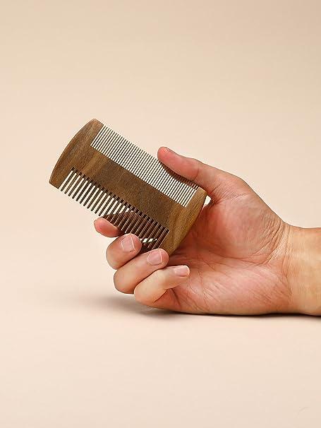 AW personalizado peine para barba caso para hombres, tamaño de ...