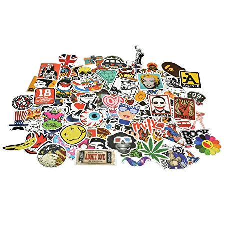 Lalang 28pcs Random Sticker Vinyl Car Sticker Motorcycle Bicycle Luggage Decal Graffiti Patches Skateboard Stickers Laptop Stickers