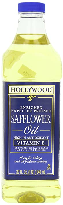 Hollywood Safflower Oil, 32 Ounce Bottle