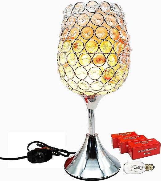Amazon.com: kimisky lámpara de sal del Himalaya lámpara de ...