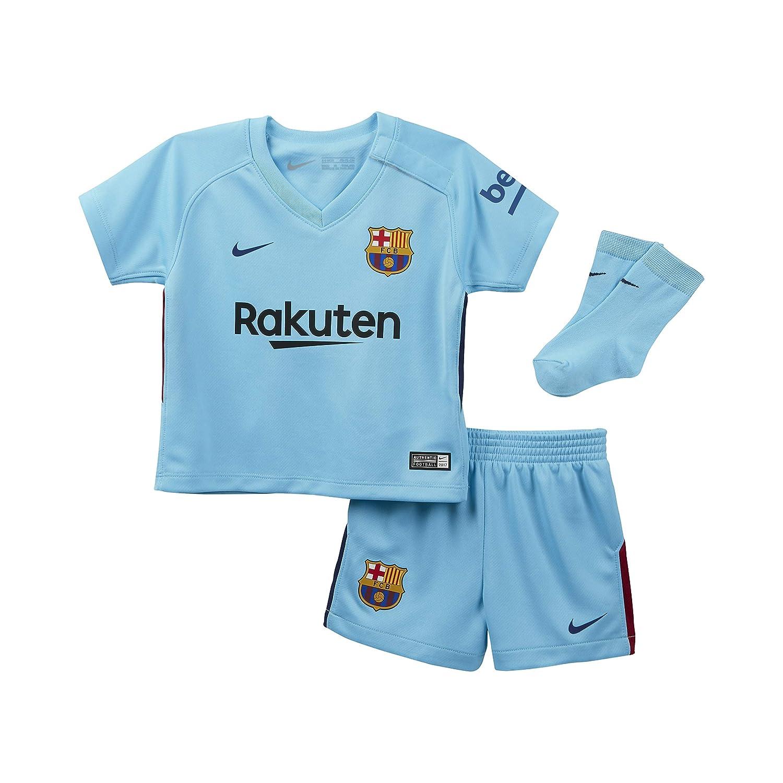 Nike - Conjunto de bebés 2ª equipación FC Barcelona 2017-2018 ...