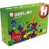 Hubelino 420022 - Kugelbahn - Bahnelemente Set - ab 4 Jahre (100% kompatibel mit Duplo) - 120 Teile