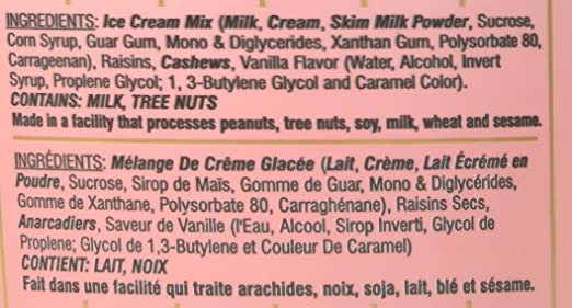 Deep, Kaju Draksh Ice Cream, 1/2 Gallon(gl): Amazon.com: Grocery & Gourmet Food