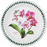 Portmeirion Exotic Botanic Garden Salad Plate with Orchid Motif