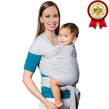 Amazon Com Rolling Over Baby Sling Carrier Soft Natural Cotton