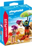 Playmobil Kids with Sand Castle
