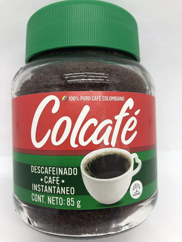 Café soluble instantáneo descafeinado Colcafe 85g: Amazon.es: Alimentación y bebidas