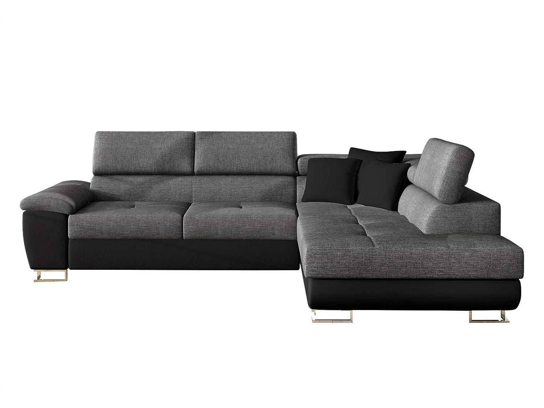 Mirjan24 - Sofá esquinero de Esquina, sofá con función de ...