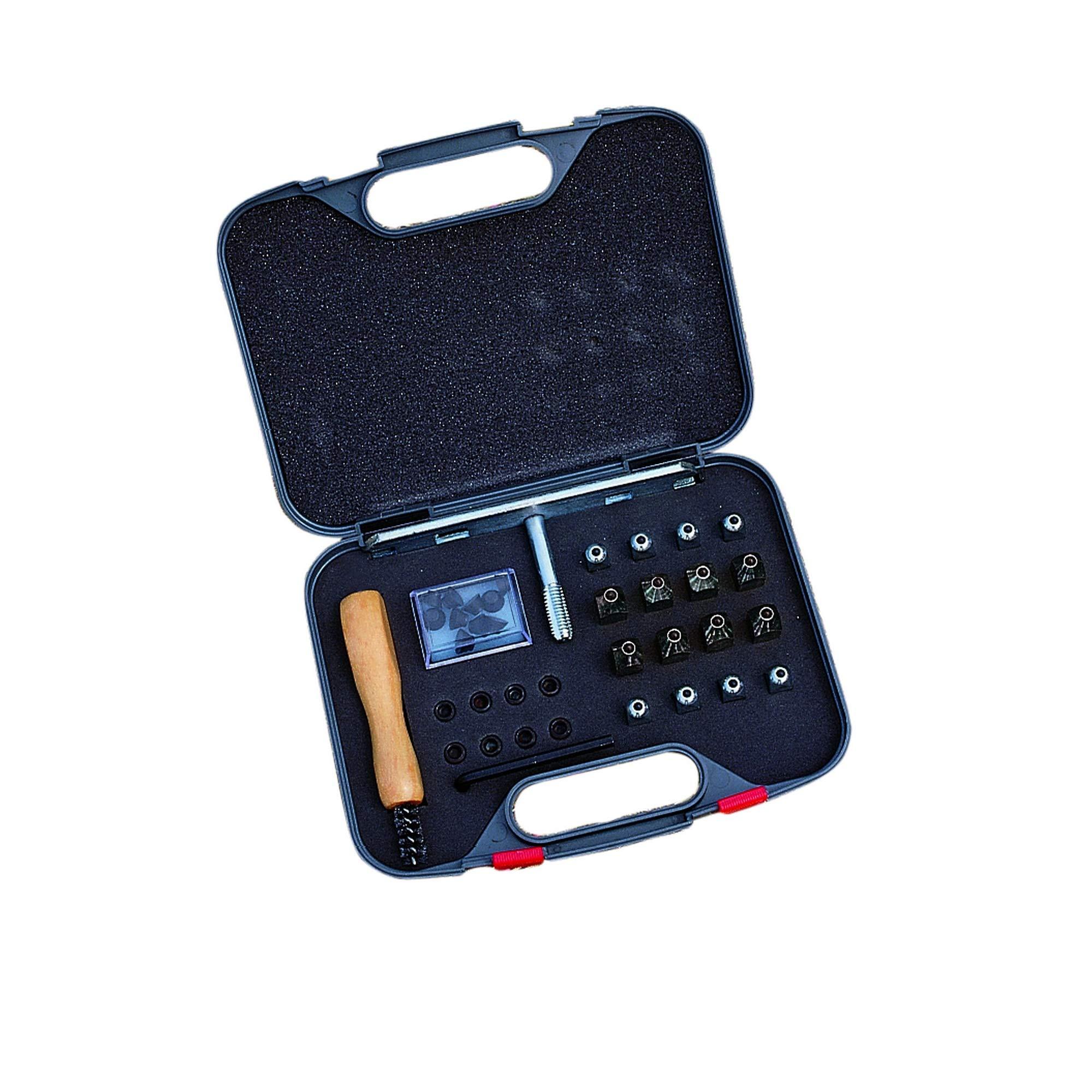 Roma Stud Kit (One Size) (Black)