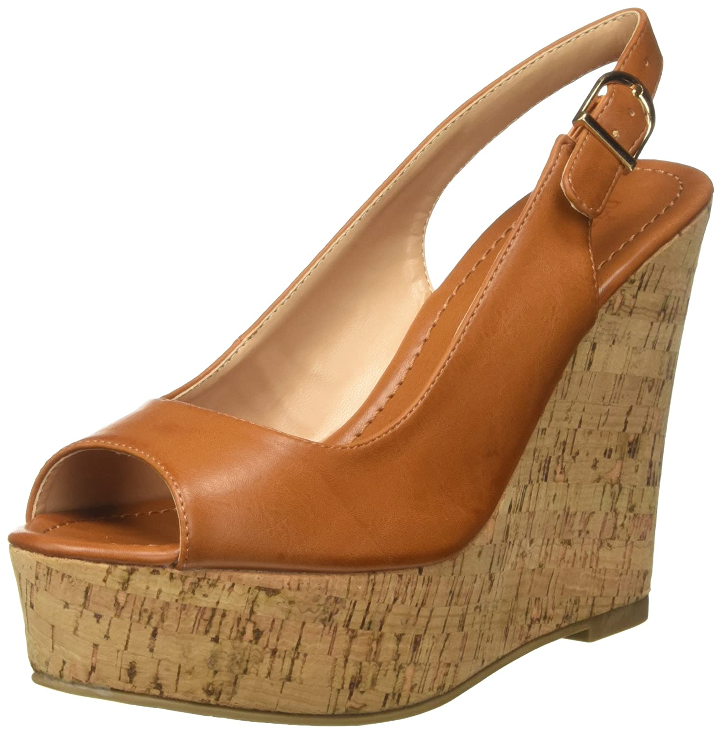 Reveal Sandali Donna, Marrone (Camel), 39 EU