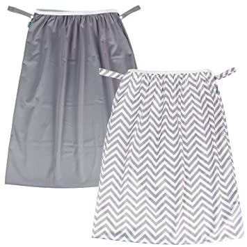 bc92067552dc Amazon.com   Teamoy (2 Pack) Reusable Pail Liner for Cloth Diaper Dirty  Diapers Wet Bag