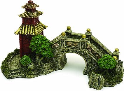 Rosewood - Adorno para Acuario de jardín japonés: Amazon.es: Productos para mascotas