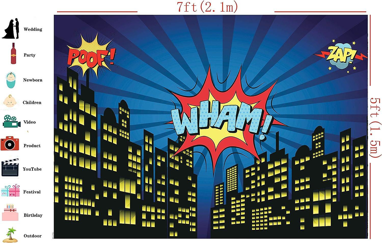 Dudaacvt D061 Superhelden Hintergrund 17 8 X 1 5 M Kamera