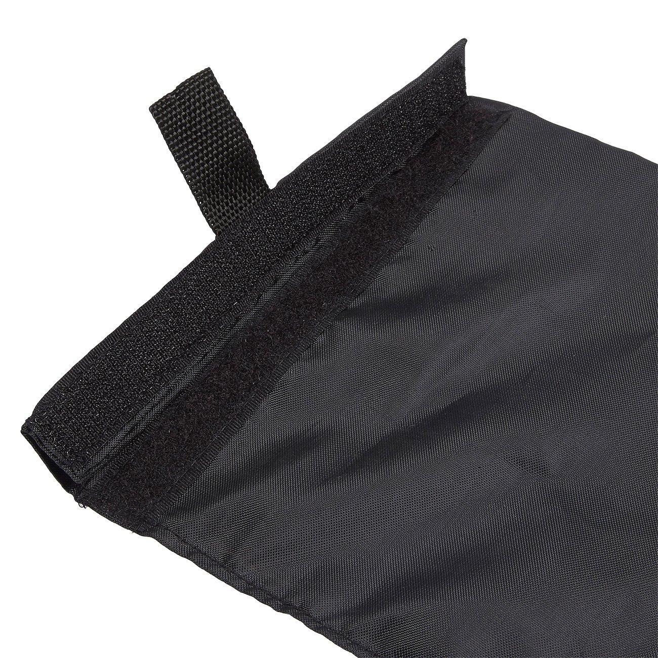 Noir 10,8/cm de diam/ètre x 39,4/cm de Hau /Le Sac Poubelle pour Voiture avec Sangle r/églable/ /Pliable Trash Container pour Autos Lot de 4/Sacs de Poubelle de lautomobile/ /85/