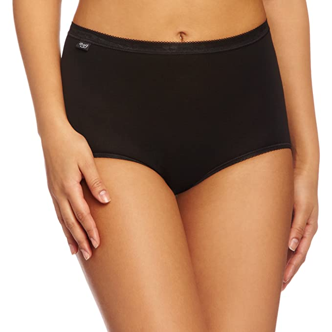 5e35e9ae9d86 Sloggi Womens Pack Of 3 Basic Maxi Briefs: Amazon.ca: Clothing & Accessories