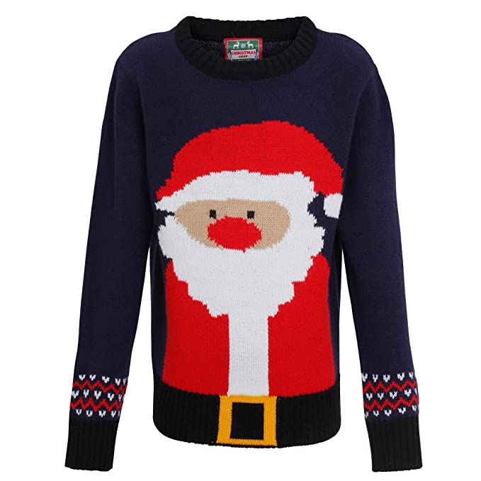 molto carino 03dfe 24140 Christmas Shop - Maglione natalizio con Babbo Natale ...