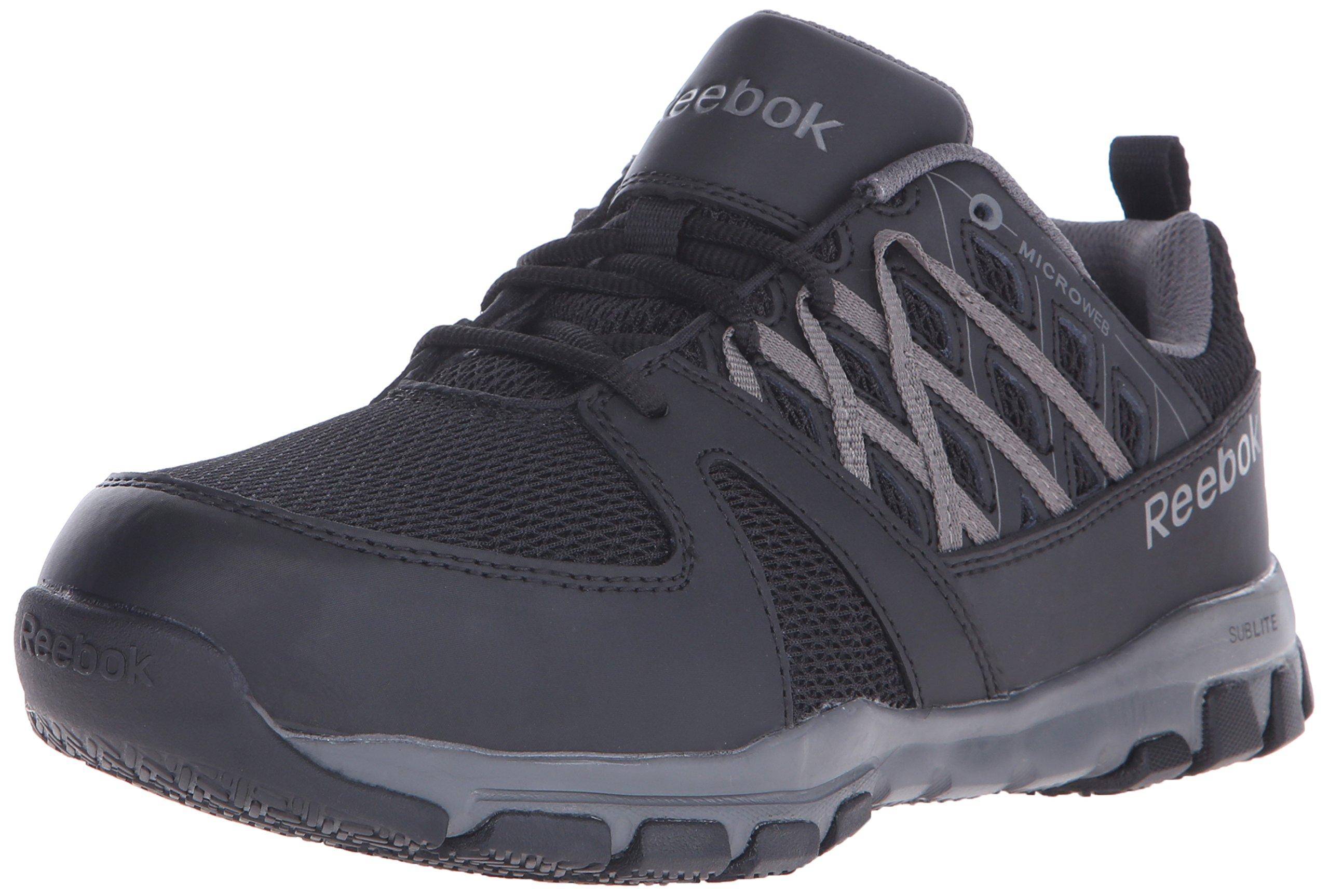 Reebok Work Men's Sublite RB4016 Work Shoe, Black, 10.5 W US by Reebok Work