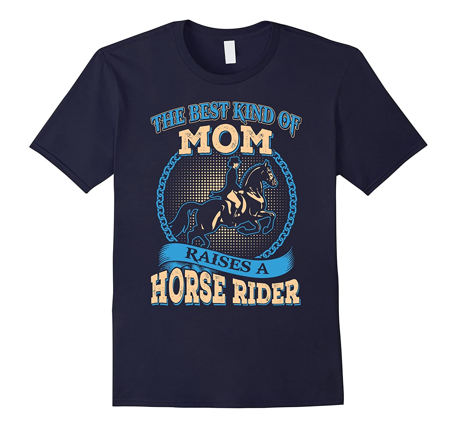 My Daughter Is A Horse Rider Great T-Shirt For Mother-Vaci