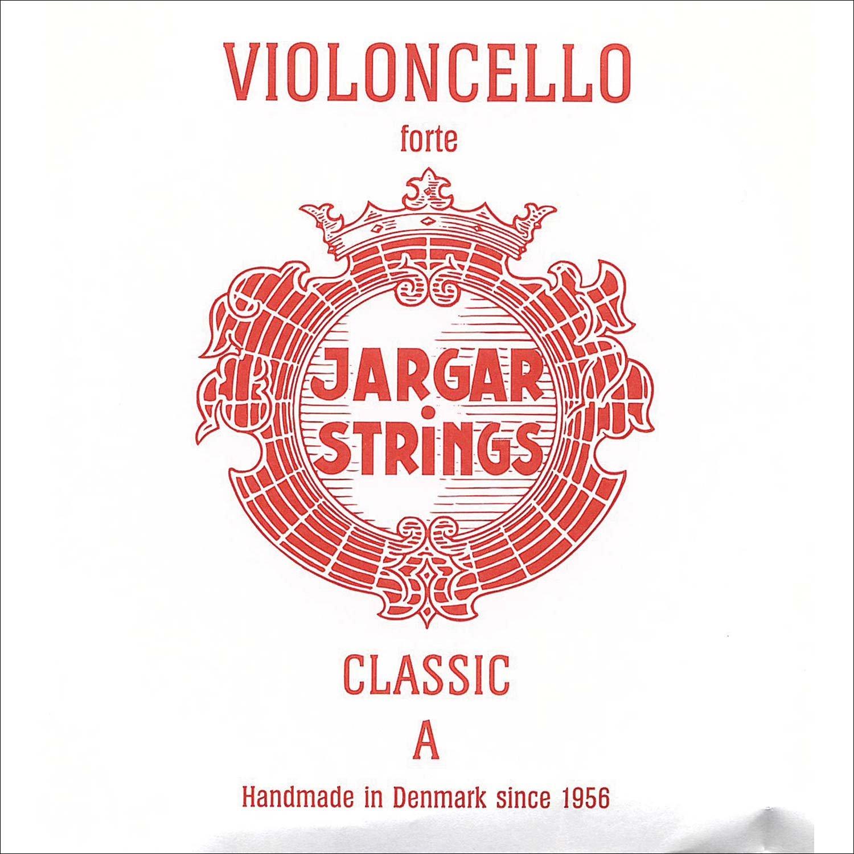Jargar 4/4 Cello A String Thick(Forte) Chromesteel