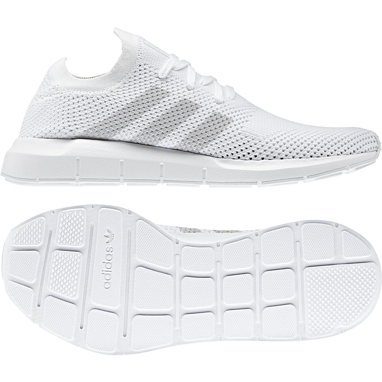 adidas Men's Swift Run Primeknit Originals Running Shoe B077Z3TFMB 11.5 M US|White / Grey-white