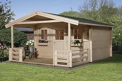 Weka Gartenhaus 110 Gr. 2 Vordach+Terrasse: Amazon.de: Garten
