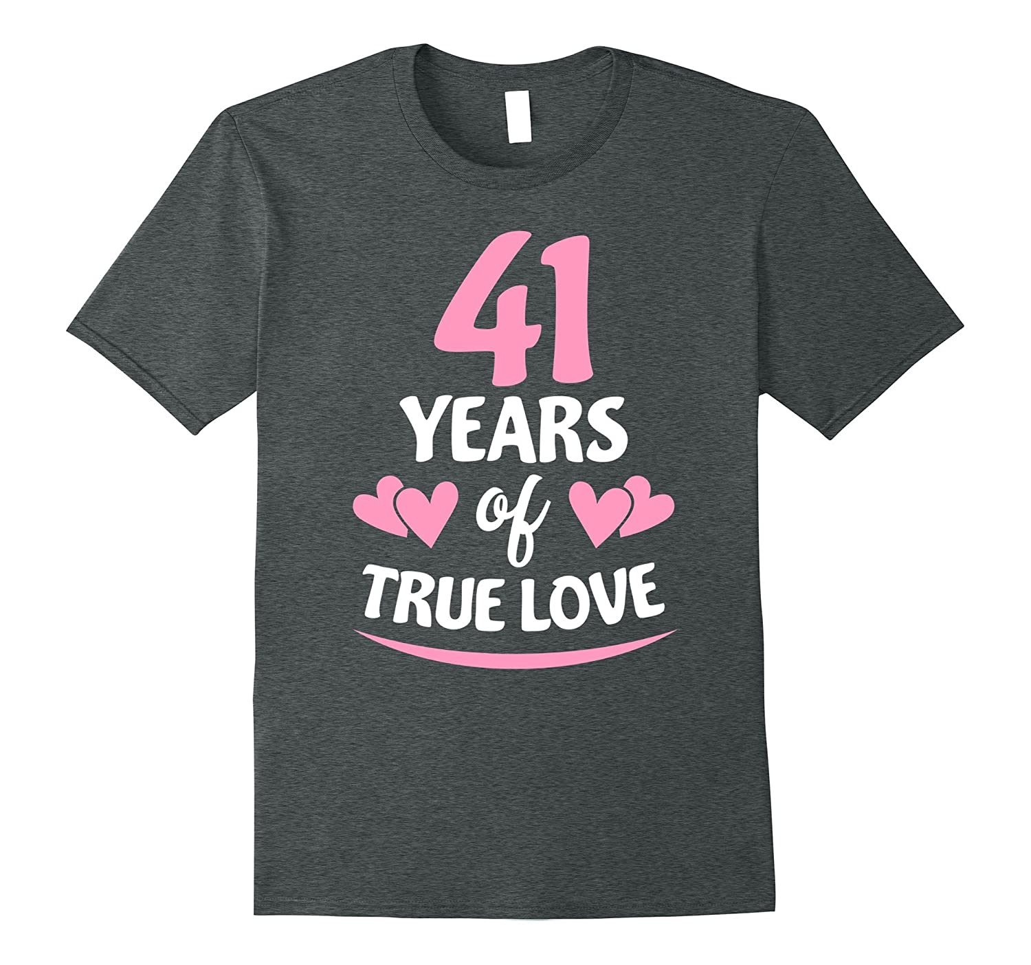 41st Anniversary Gift for Mom and Dad T-Shirt-PL