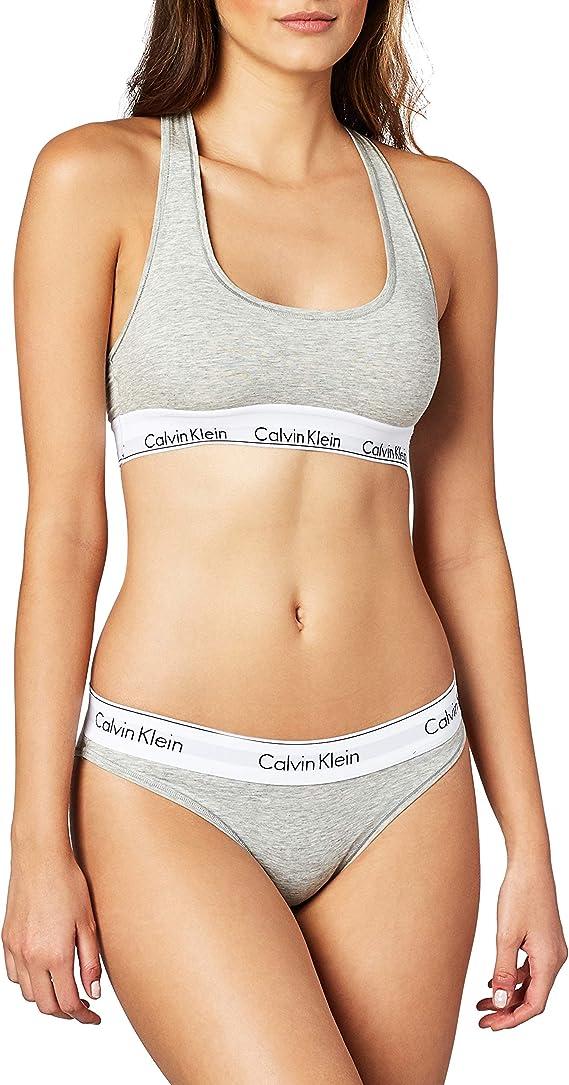 Calvin Klein Women's Modern Cotton Bralette and Bikini-Set
