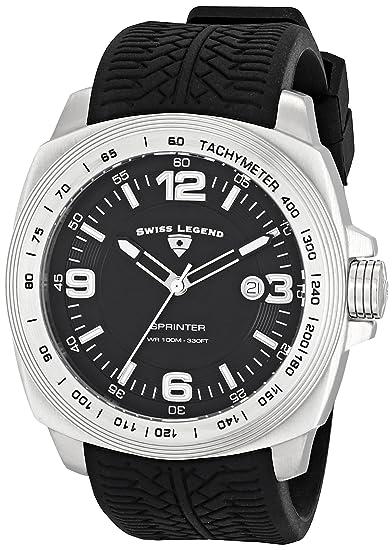 0f7ea59539d1 Swiss Legend Sprinter 21045-01 Reloj suizo de cuarzo para hombre ...
