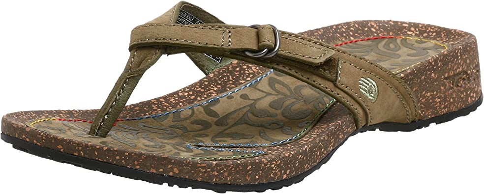 Amazon Com Teva Women S Ventura Thong Sandal Flip Flops