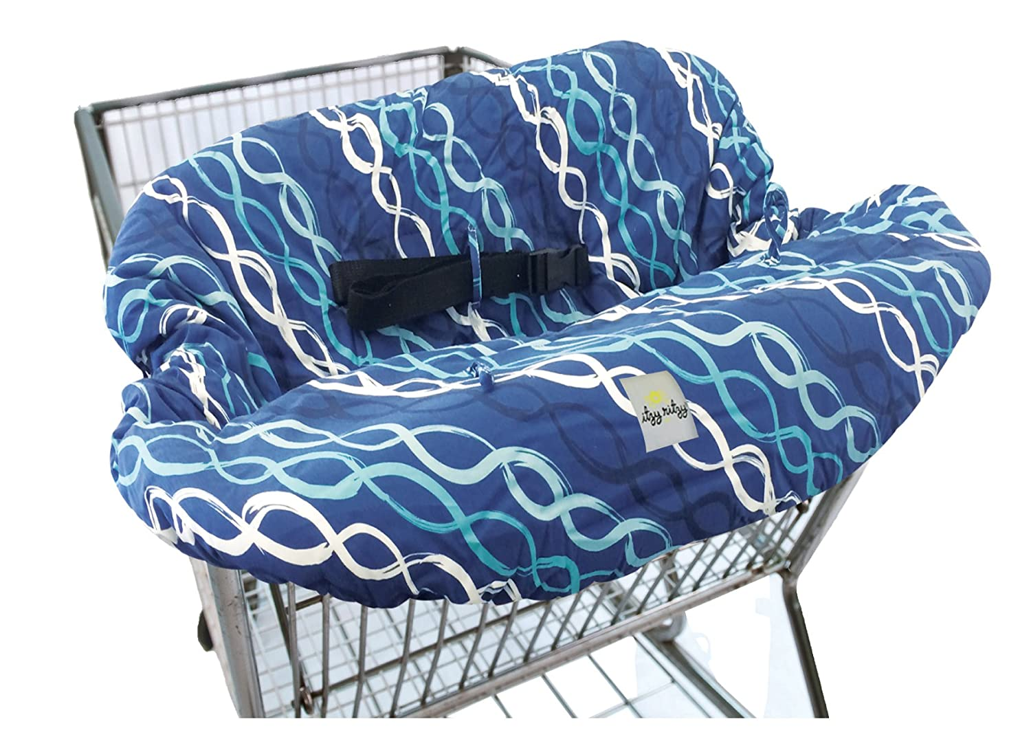 Amazon.com : Itzy Ritzy Sitzy Shopping Cart and High Chair Cover ...