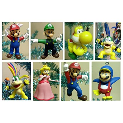 Super Mario Brothers Set of 8 Holiday Christmas Tree Ornaments Featuring  Larry Koopa, Lemmy Koopa - Amazon.com: Super Mario Brothers Set Of 8 Holiday Christmas Tree