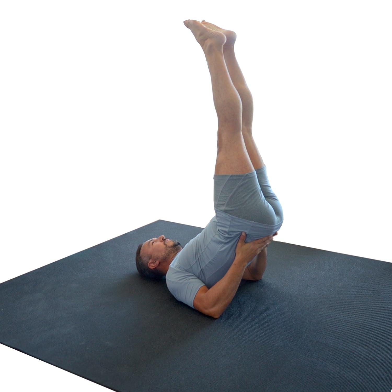 WideMat Esterilla de Pilates Pro Eco 183X183 cm: Amazon.es ...