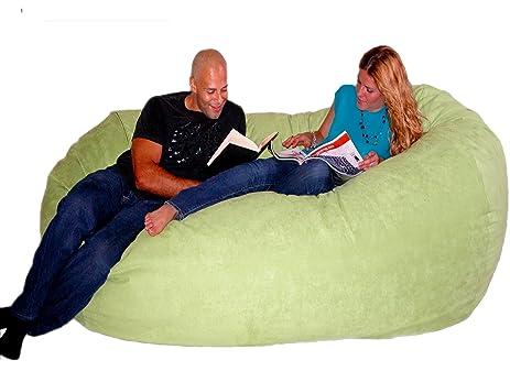 Cozy Sack 75 Feet Bean Bag Chair X Large Lime