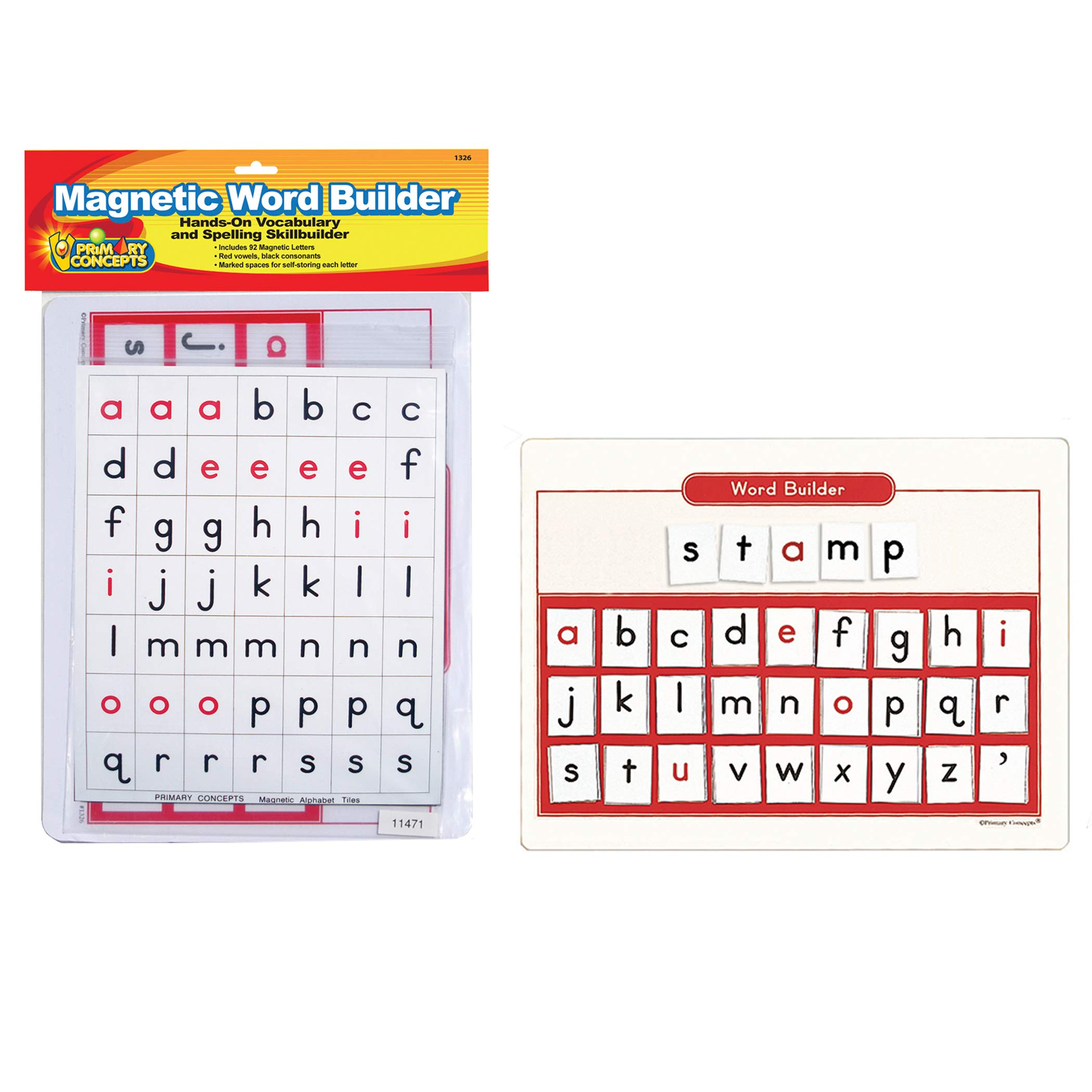 Primary Concepts, Inc PC-1326 Magnetic Word Builder Learning kit
