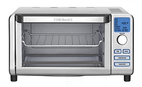Amazon.com: Cuisinart TOB-100 Compact Digital Toaster Oven Broiler: Kitchen & Dining
