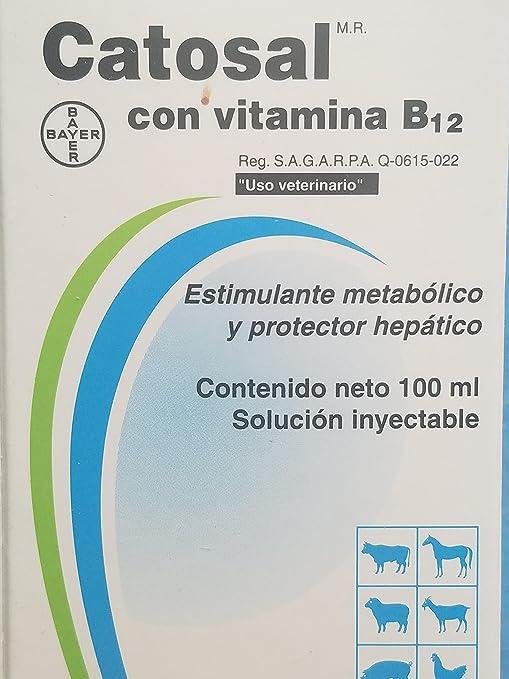 Catosal con Vitamina B12 -50ml Catosal con Vitamina B12-50ml
